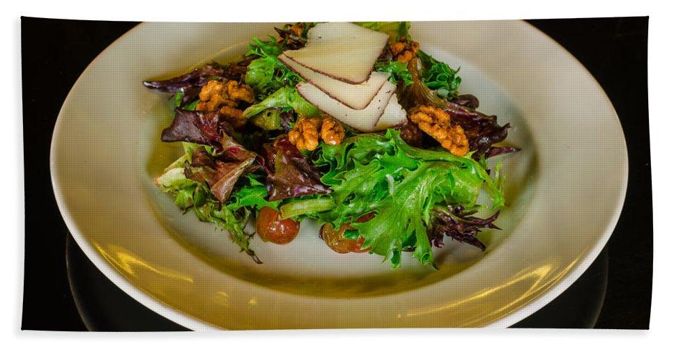 Salad Bath Sheet featuring the photograph Salad by Nikolai Martusheff