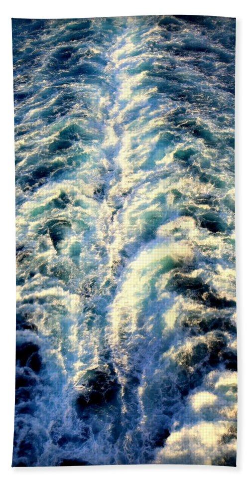 Salt Life Bath Sheet featuring the photograph Salt Life by Karen Wiles