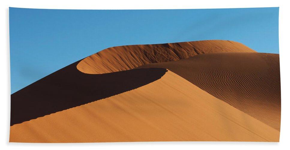 Desert Bath Sheet featuring the photograph Sand Dune by Ivan Slosar