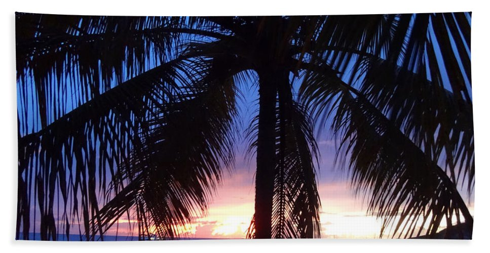 Sunset Bath Sheet featuring the photograph Sandy Ground Soother by Kristin Bourne