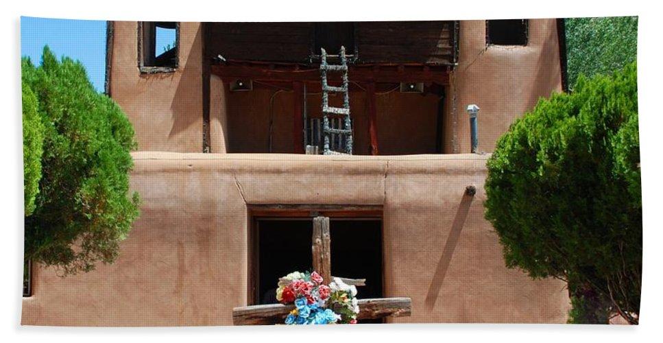 Santa Fe Bath Sheet featuring the photograph Santuario De Chimayo 2 by Dany Lison