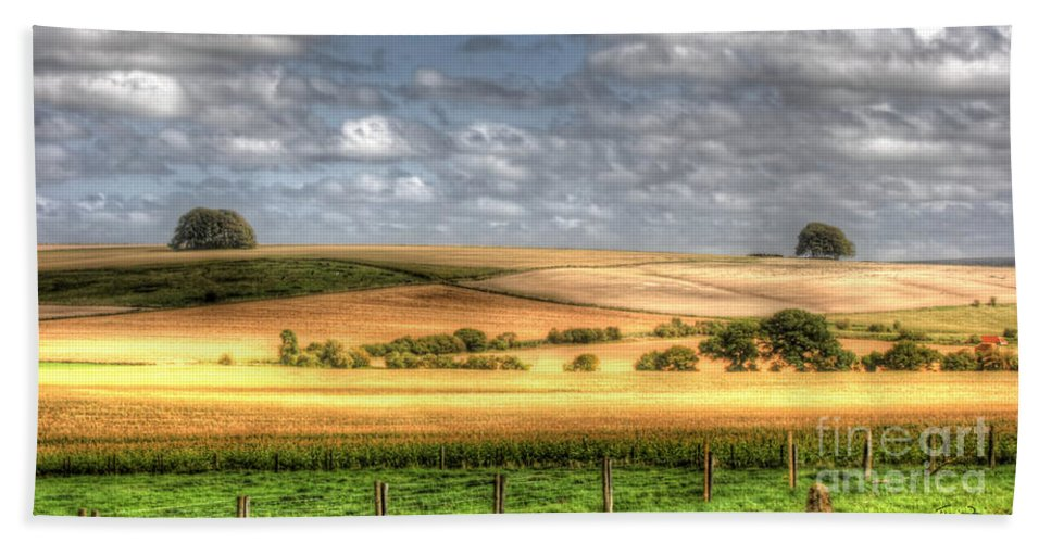 Wiltshire Hand Towel featuring the photograph Scenic Wiltshire by Traci Law