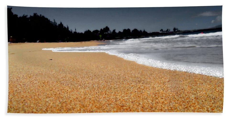 Photography Hand Towel featuring the photograph Sea Life 2 by Marcello Cicchini