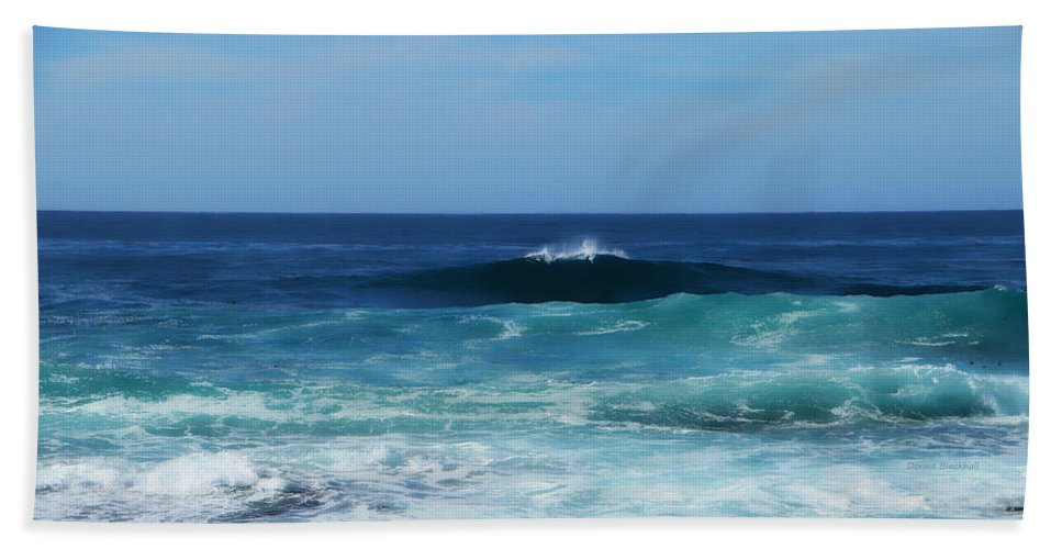 Ocean Hand Towel featuring the photograph Sea Of Dreams by Donna Blackhall