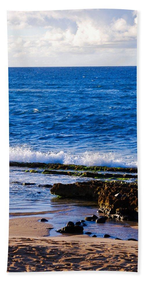 Christi Kraft Bath Sheet featuring the photograph Sea Shelves by Christi Kraft