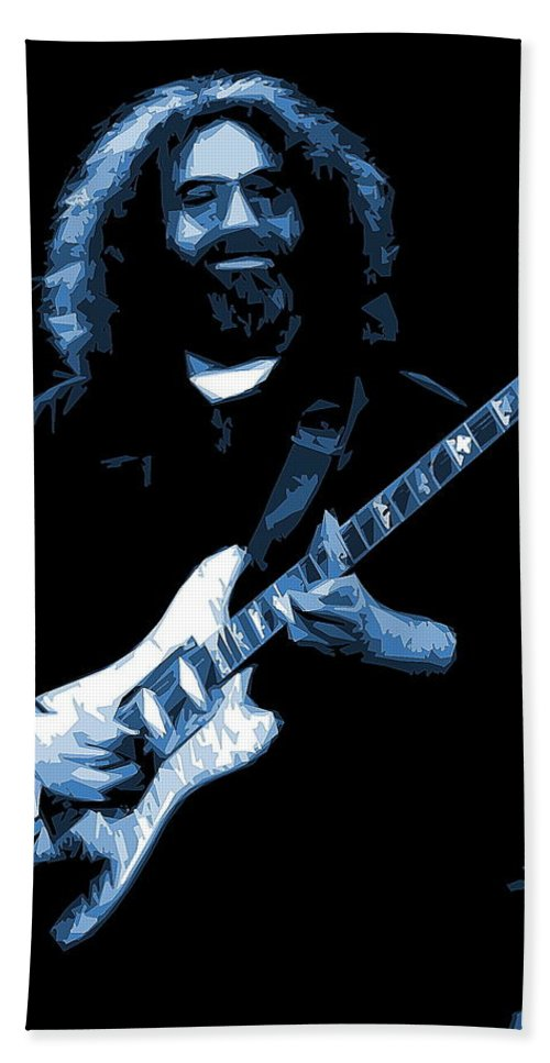Jerry Garcia Bath Sheet featuring the photograph Searching For A Sound 1 by Ben Upham