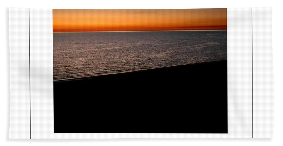 Sea Bath Sheet featuring the photograph Seascape At Dawn Poster by Mike Nellums