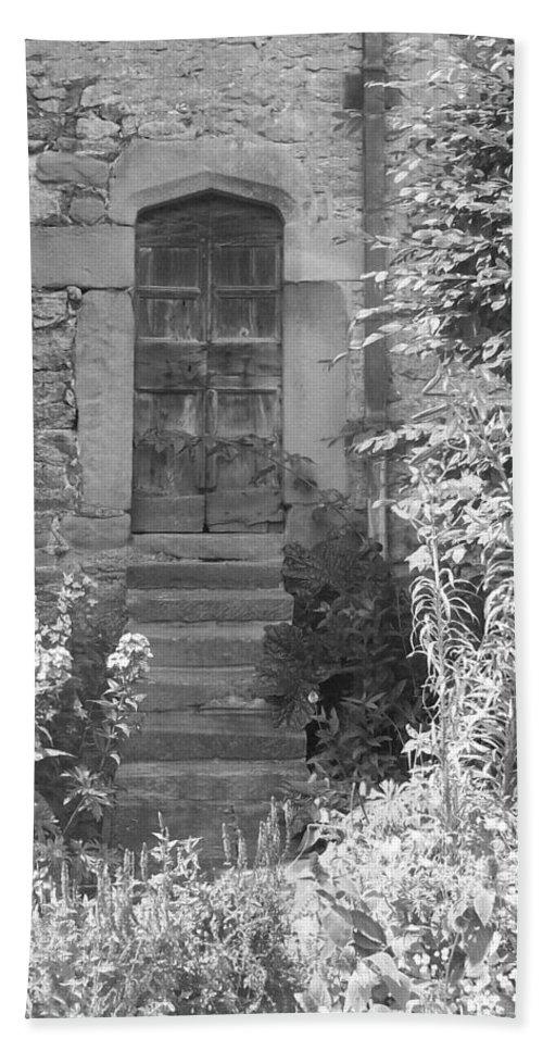 Door Bath Sheet featuring the photograph Secret Door by Asa Jones