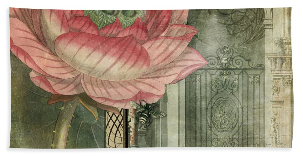 Aimee Stewart Hand Towel featuring the photograph Secret Garden by MGL Meiklejohn Graphics Licensing