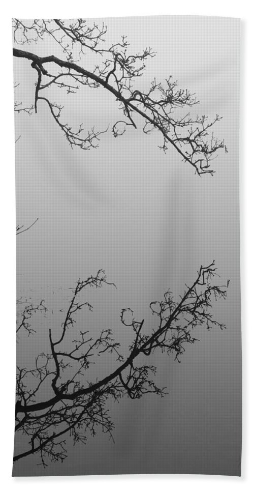 Reflection Hand Towel featuring the photograph Self-reflection by Luke Moore