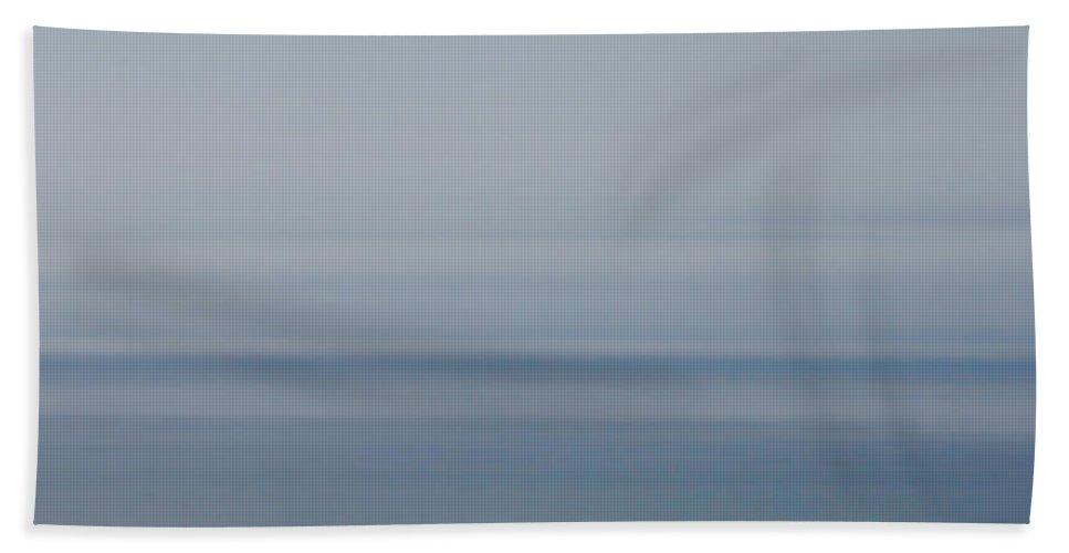 Ocean Bath Sheet featuring the photograph Serene Sea by Donna Blackhall