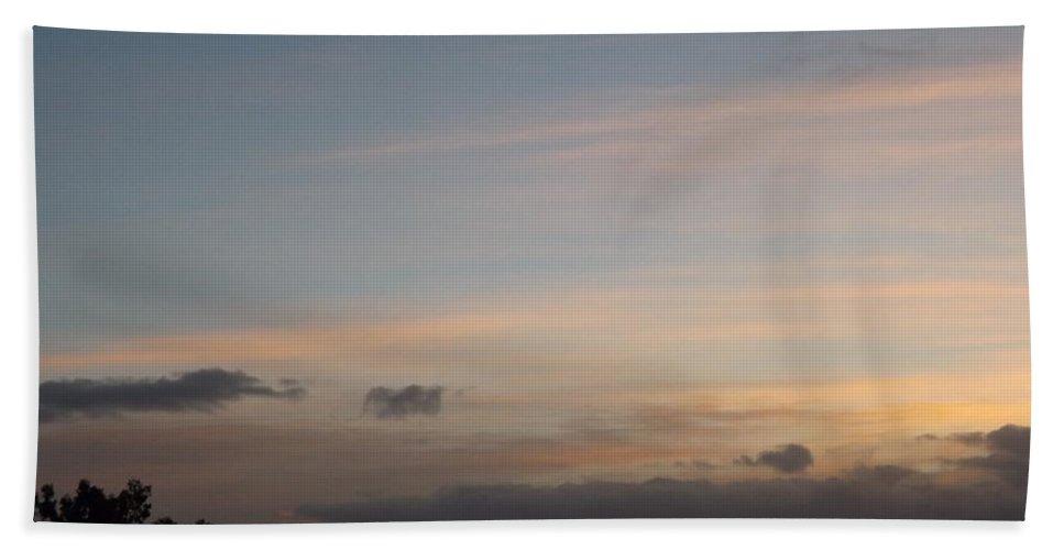 Sunrise Hand Towel featuring the photograph Serene Sunrise by Jussta Jussta