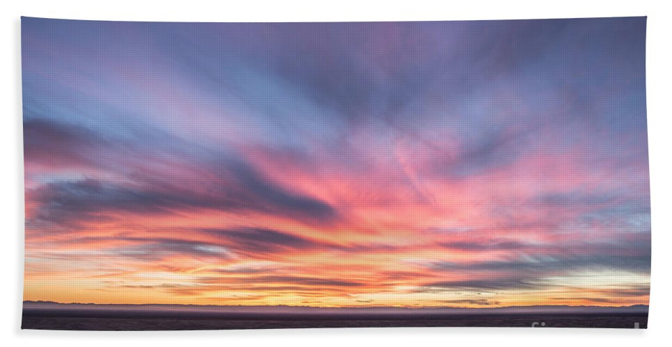 Landscapes Bath Sheet featuring the photograph Setting Dunes by Digital Kulprits