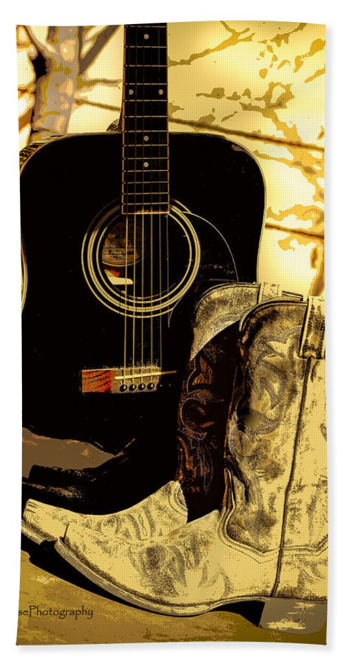 Cowboy Boots Hand Towel featuring the photograph Sh T Kickers by Kip Krause