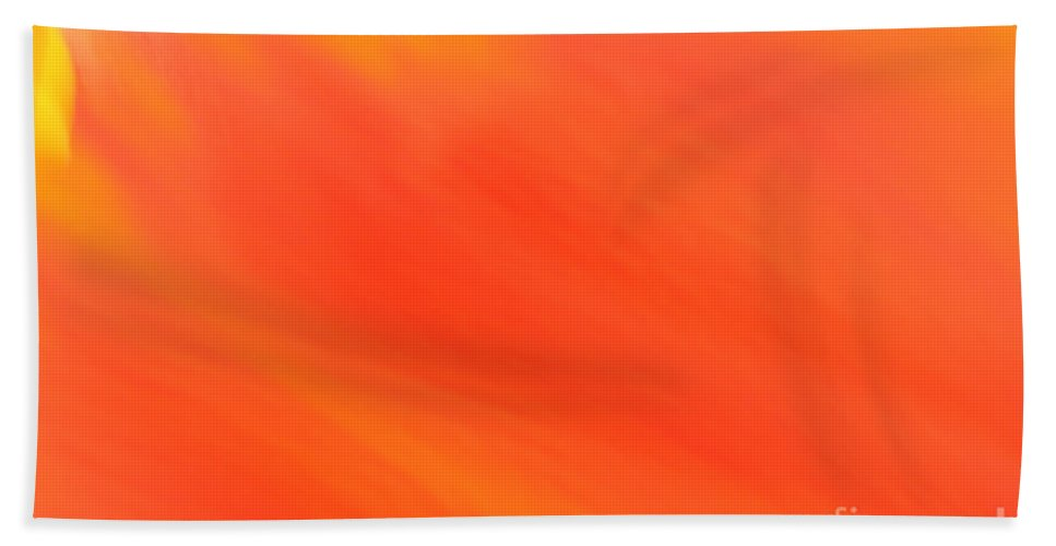 Abstract Bath Sheet featuring the photograph Shades Of Red by Susan Herber