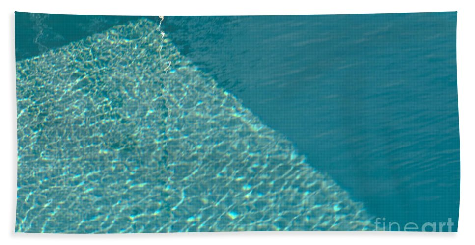 Shadows Bath Sheet featuring the photograph Shadow Shapes II by James Lavott