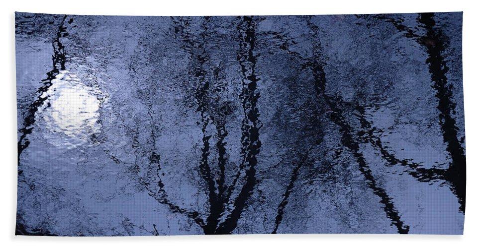 Art Bath Sheet featuring the photograph Shadows Of Reality by Steven Milner