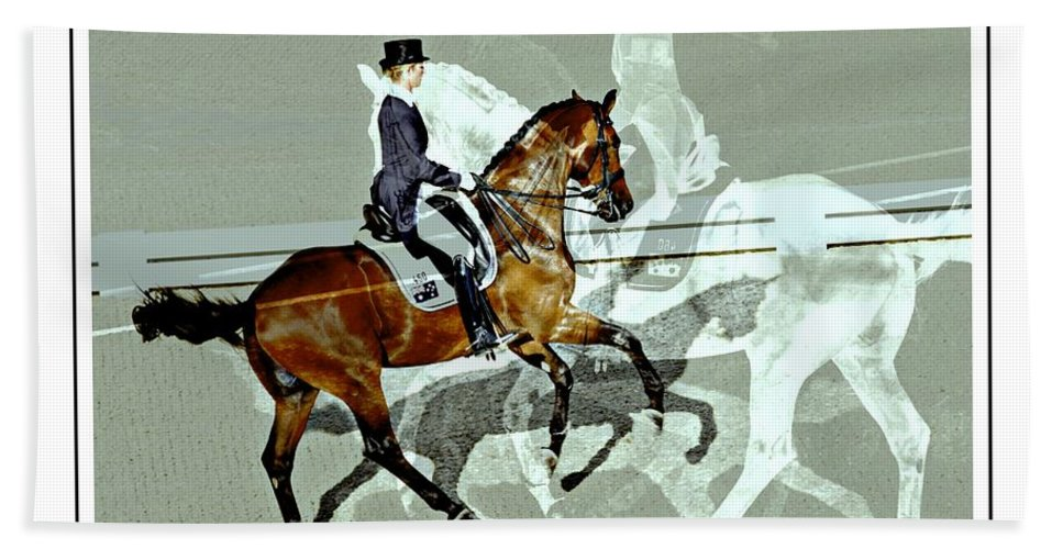 Horse Show View Hand Towel featuring the photograph Shadows Of Shadows by Alice Gipson