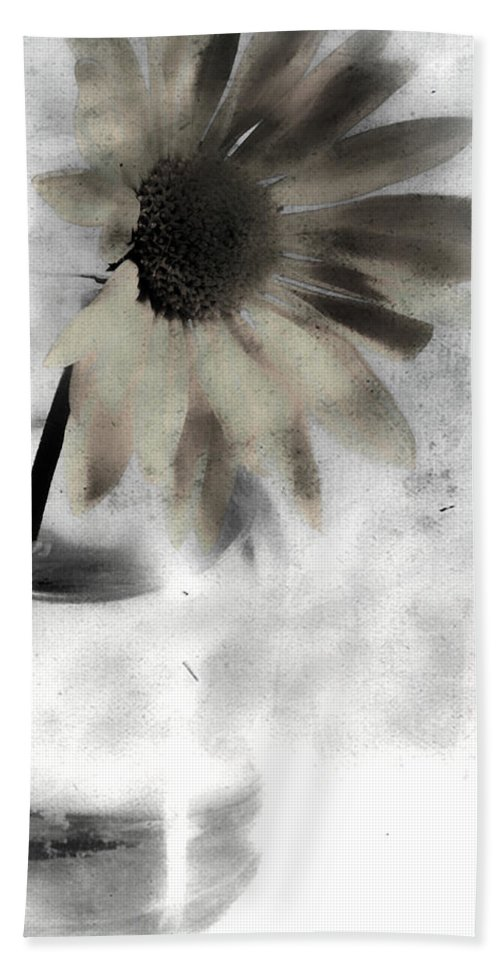 Flower Hand Towel featuring the photograph Shine Of Yellow by The Artist Project