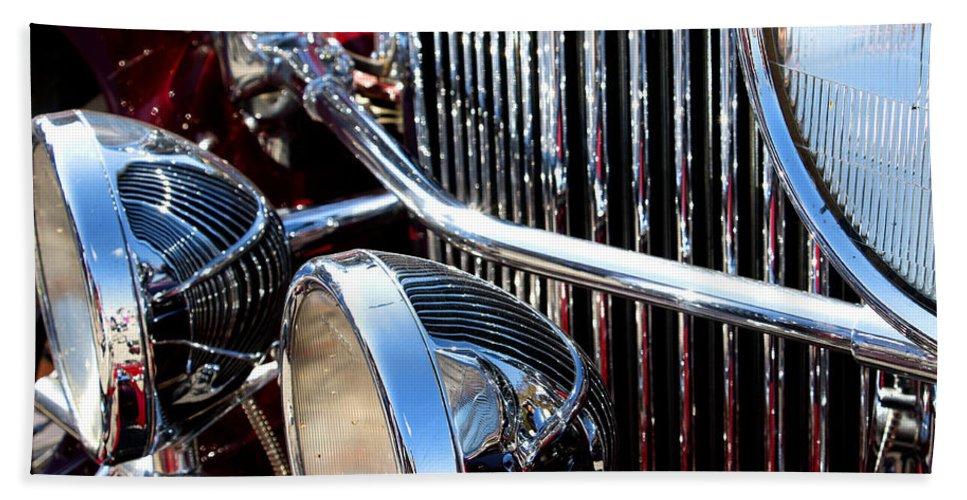 Cars Bath Sheet featuring the photograph Shiny by Rebecca Davis