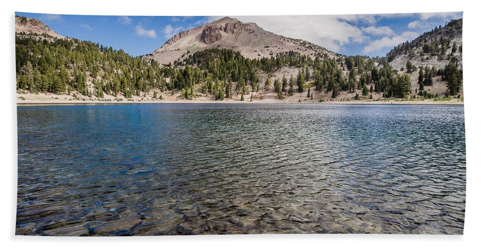 California Bath Sheet featuring the photograph Shores Of Helen Lake by Greg Nyquist