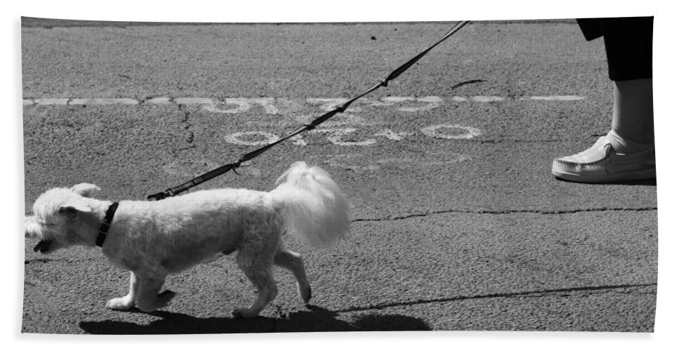 Street Photography Hand Towel featuring the photograph Short Street by The Artist Project