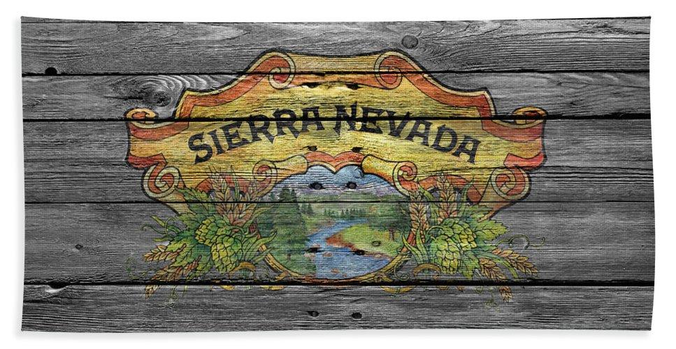 Sierra Nevada Hand Towel featuring the photograph Sierra Nevada by Joe Hamilton