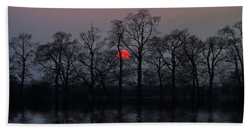 Sun Bath Sheet featuring the photograph Silent Sun by Joachim G Pinkawa