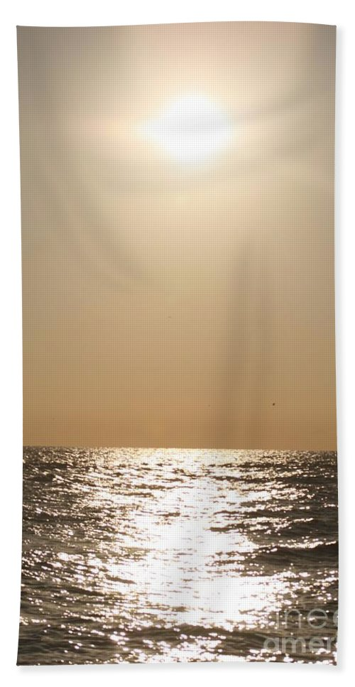 Silver Hand Towel featuring the photograph Silver And Gold by Nadine Rippelmeyer