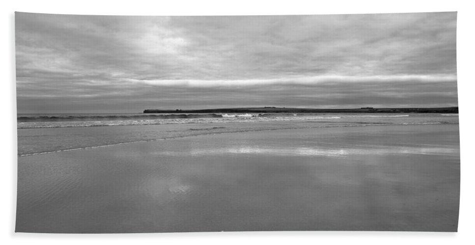 Beach Bath Sheet featuring the photograph Sinclair's Bay by Fraser McCulloch