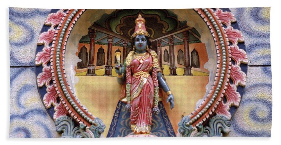 Asia Bath Sheet featuring the photograph Sivagami by Shaun Higson