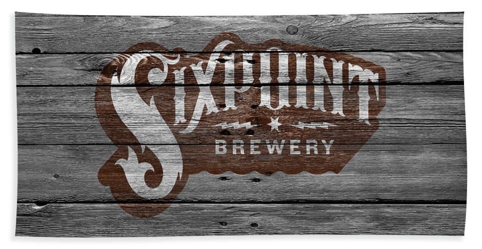 Sixpoint Brewery Hand Towel featuring the photograph Sixpoint Brewery by Joe Hamilton