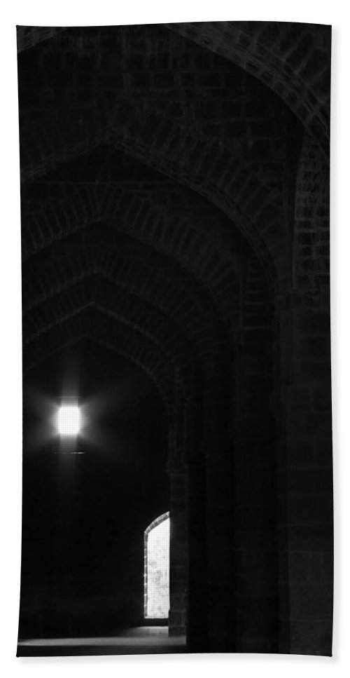 Arches Bath Sheet featuring the photograph Skc 3150 The Arches Of Age by Sunil Kapadia