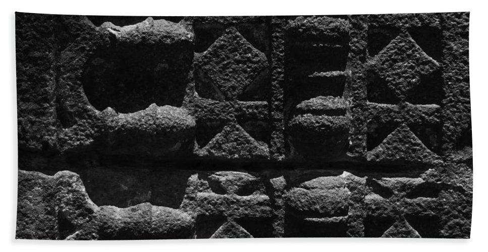 Ancient Bath Sheet featuring the photograph Skc 3300 Ancient Wall Art by Sunil Kapadia