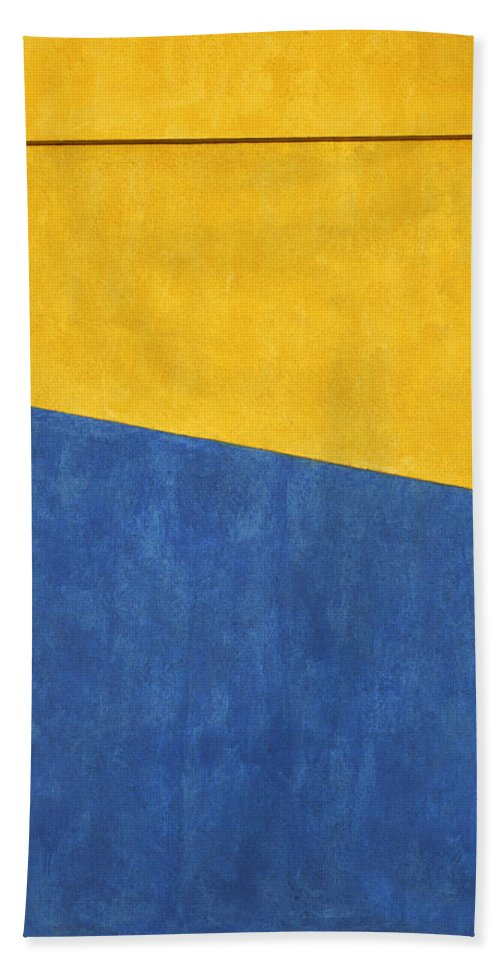 Abstract Hand Towel featuring the photograph Skc 0303 Co-existance by Sunil Kapadia