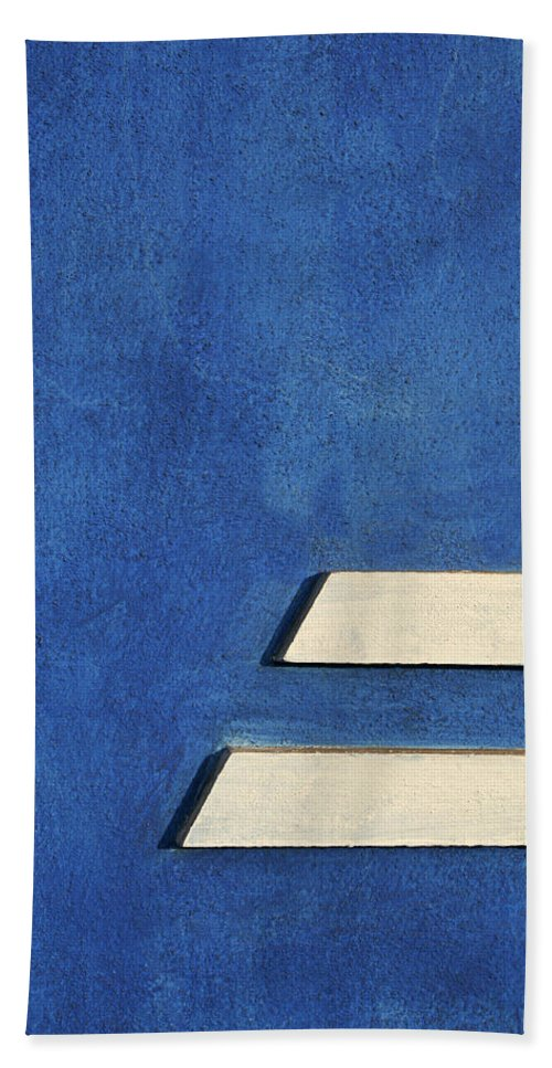Abstract Hand Towel featuring the photograph Skc 0304 Parallel Paths by Sunil Kapadia