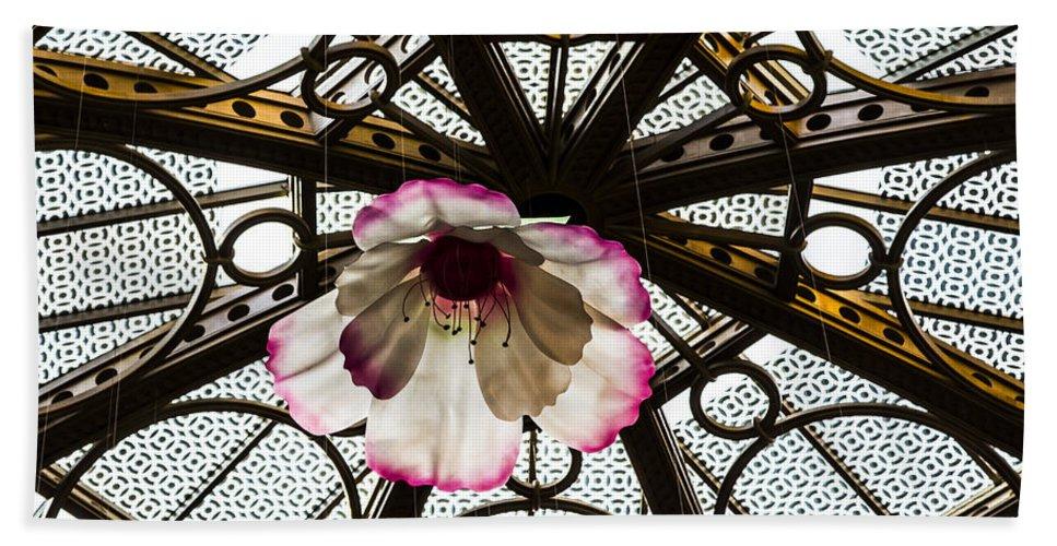 Nevada Hand Towel featuring the photograph Skylight Blossom by Angus Hooper Iii