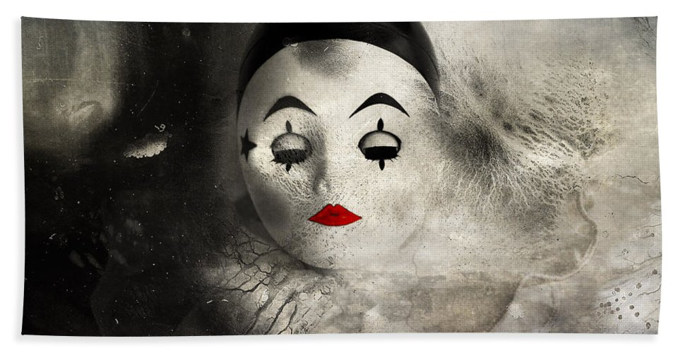 Doll Face Bath Sheet featuring the photograph Sleeping Night by The Artist Project