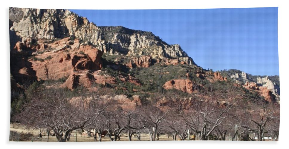 Slide Hand Towel featuring the photograph Slide Rock by Christy Gendalia