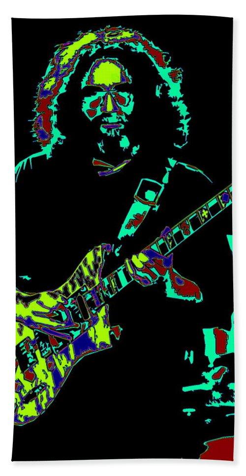 Jerry Garcia Bath Sheet featuring the photograph Slipknot 2 by Ben Upham