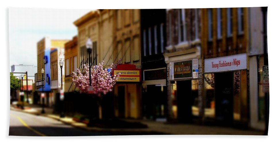 Fine Art Bath Sheet featuring the photograph Small Town 2 by Rodney Lee Williams