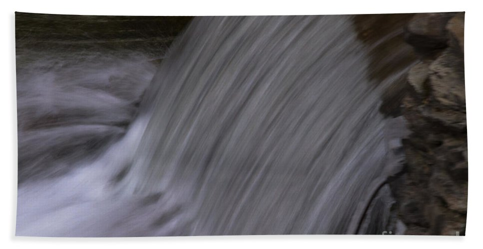 Water Hand Towel featuring the photograph Smooth Flow by William Norton
