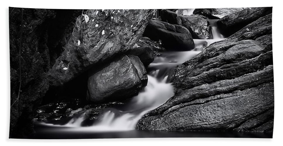 Landscape Hand Towel featuring the photograph Smooth Flows by Rob Dietrich