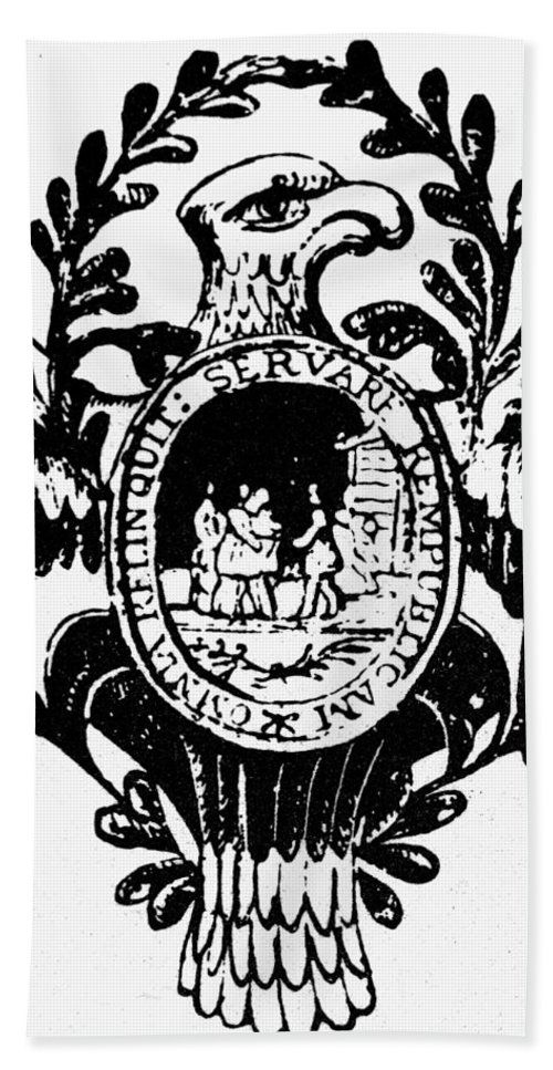 American Hand Towel featuring the photograph Society Of The Cincinnati by Granger