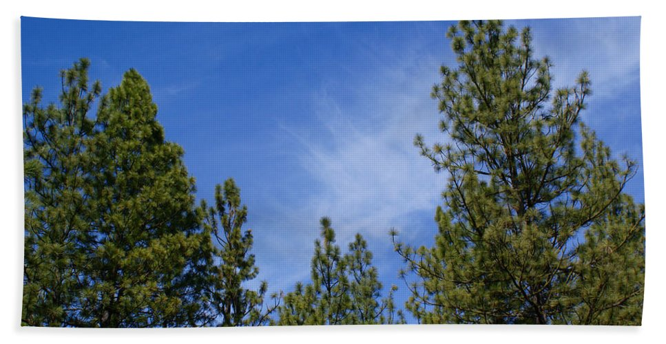 Clouds Hand Towel featuring the photograph Soft And Gentle Sky by Ben Upham III