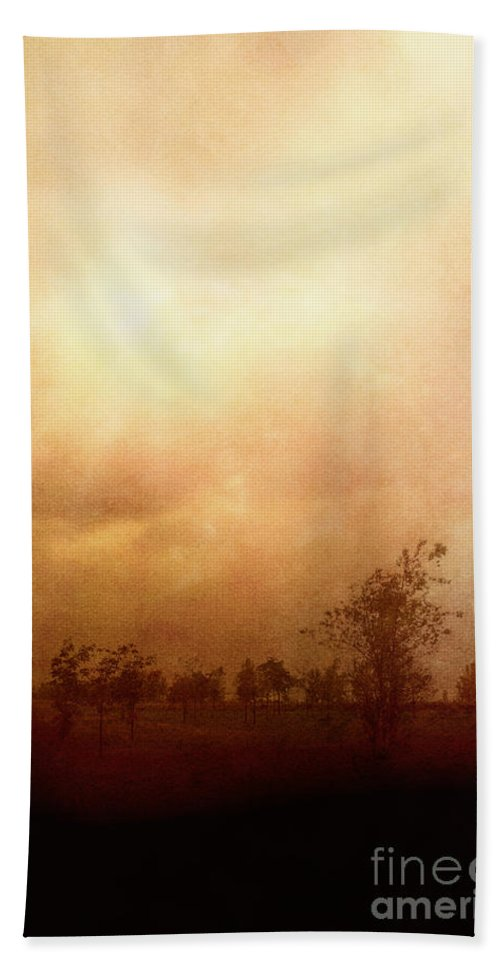 Fall Hand Towel featuring the photograph Solitude by Margie Hurwich