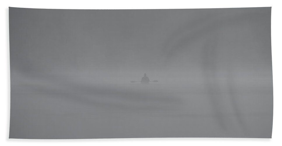 Solitude Bath Sheet featuring the photograph Solitude by Whispering Peaks Photography