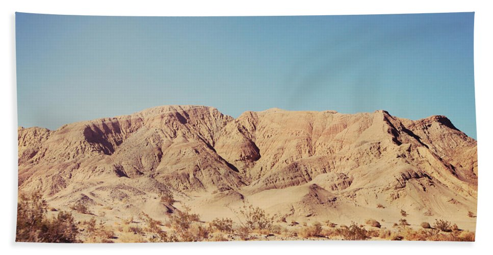 Anza Borrego State Park Hand Towel featuring the photograph Sometimes I See So Clearly by Laurie Search