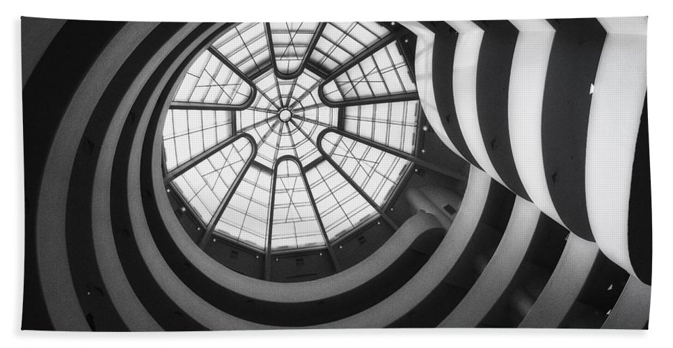 Museum Bath Sheet featuring the photograph Spiraling by Claudia Kuhn