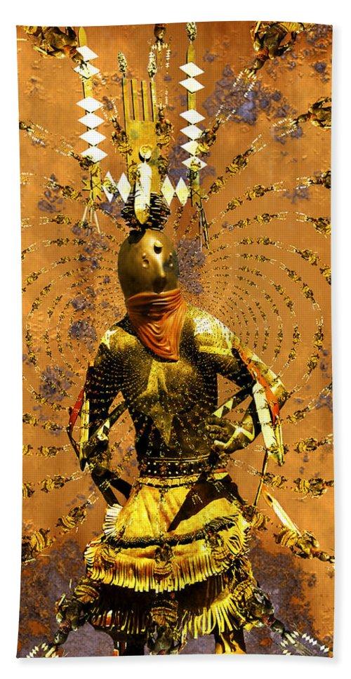 Kachina Bath Sheet featuring the photograph Spirit Dance by Kurt Van Wagner